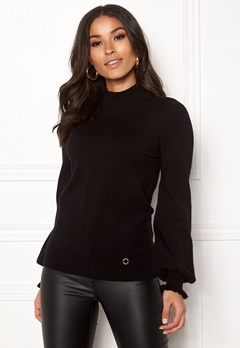 Happy Holly Haddie sweater Black Bubbleroom.fi