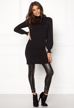 Happy Holly Haddie sweater dress Black Bubbleroom.fi