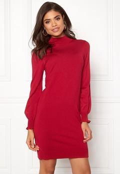 Happy Holly Haddie sweater dress Red Bubbleroom.fi
