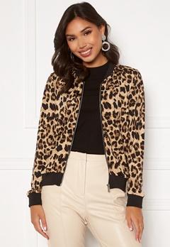 Happy Holly Hanna bomber jacket Leopard Bubbleroom.fi