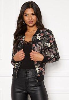 Happy Holly Hanna jacket Black / Patterned Bubbleroom.fi