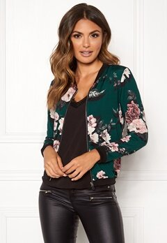 Happy Holly Hanna jacket Dark green / Patterned Bubbleroom.fi