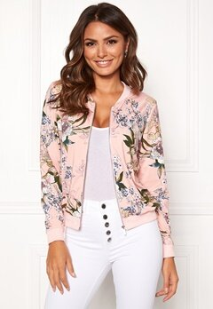 Happy Holly Hanna jacket Dusty pink / Patterned Bubbleroom.fi
