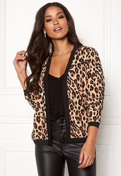 Happy Holly Hannele jacket Leopard Bubbleroom.fi