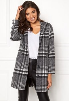Happy Holly Harper coat Checked Bubbleroom.fi