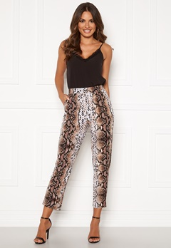 Happy Holly Hazel tricot pants Animal print Bubbleroom.fi