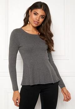 Happy Holly Henrietta sweater Grey melange Bubbleroom.fi