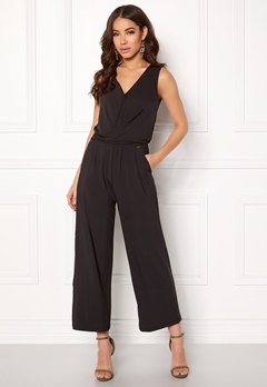 Happy Holly Iman jumpsuit Black Bubbleroom.fi