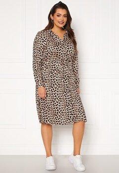 Happy Holly Iris Shirt dress Leopard Bubbleroom.fi