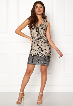 Happy Holly Isabella dress Black / Patterned Bubbleroom.fi