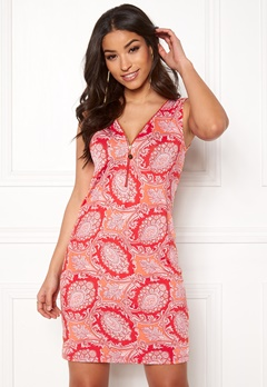 Happy Holly Isabella dress Orange / Patterned Bubbleroom.fi