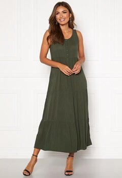 Happy Holly Jacqueline dress Khaki green Bubbleroom.fi