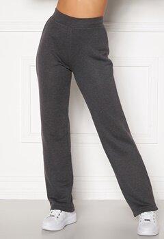 Happy Holly Jade soft pants Dark grey melange bubbleroom.fi