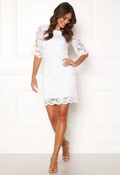 Happy Holly Jade lace dress White Bubbleroom.fi