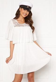Happy Holly Jannica short dress White Bubbleroom.fi