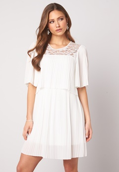 Happy Holly Jannica short dress White Bubbleroom.fi