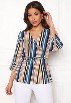 Happy Holly Jasmine blouse Striped Bubbleroom.fi