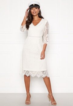 Happy Holly Jenna lace dress White Bubbleroom.fi