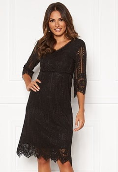 Happy Holly Jenna lace dress Black Bubbleroom.fi