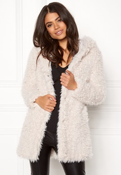 Happy Holly Jenny coat Light beige Bubbleroom.fi