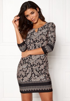 Happy Holly Jessie dress Black / Patterned Bubbleroom.fi