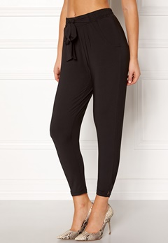 Happy Holly Jonna pants Black Bubbleroom.fi