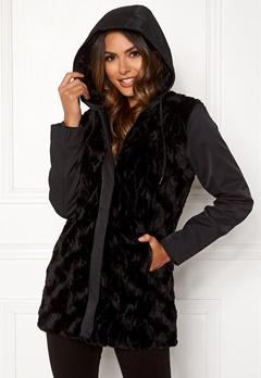 Happy Holly Josephine jacket Black Bubbleroom.fi