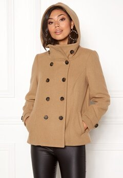 Happy Holly Josey jacket Camel Bubbleroom.fi