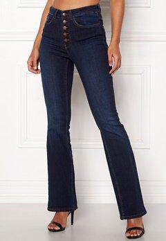 Happy Holly Josie bootcut jeans Dark denim Bubbleroom.fi