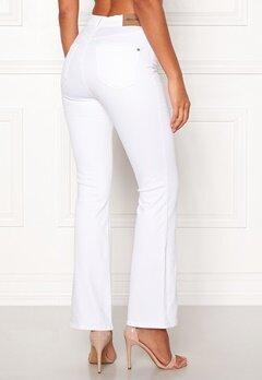 Happy Holly Josie bootcut jeans White Bubbleroom.fi
