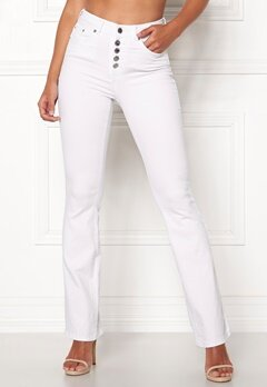 Happy Holly Josie bootcut jeans White Bubbleroom.fi d09c18acfb