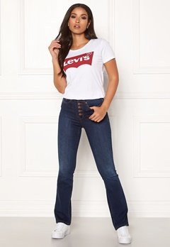Happy Holly Josie bootcut jeans Dark denim Bubbleroom.fi