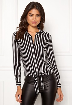 Happy Holly Juliette knot shirt Striped Bubbleroom.fi