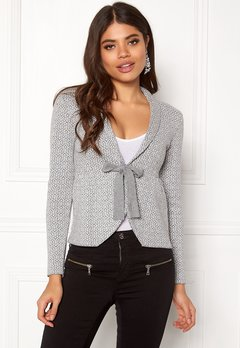 Happy Holly Kara cardigan Grey / Offwhite Bubbleroom.fi