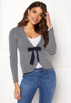 Happy Holly Kara cardigan Navy / Offwhite Bubbleroom.fi