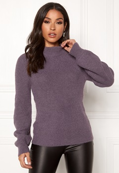 Happy Holly Kelly sweater Dusty lilac Bubbleroom.fi