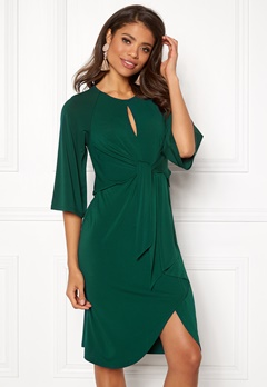 Happy Holly Kim dress Dark green Bubbleroom.fi