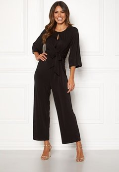 Happy Holly Kim jumpsuit Black Bubbleroom.fi