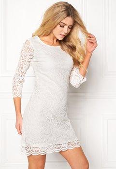 Happy Holly Lina lace dress Offwhite Bubbleroom.fi