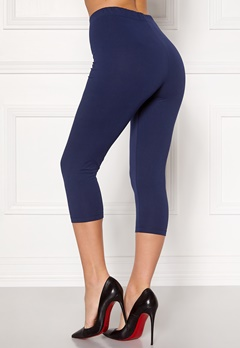 Happy Holly Beata Crop leggings Navy / Black Bubbleroom.fi