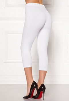 Happy Holly Beata Crop leggings Black / White Bubbleroom.fi