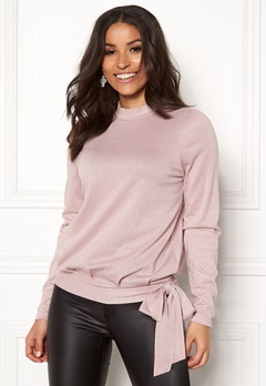 Happy Holly Lily lurex top Pink Bubbleroom.fi