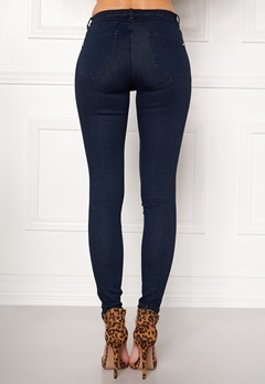 Happy Holly Limone jeans Dark denim Bubbleroom.fi
