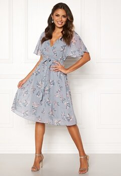 Happy Holly Linette midi dress Patterned Bubbleroom.fi