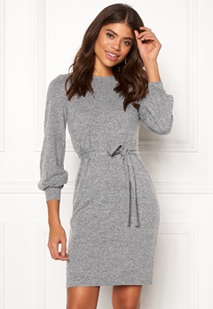 Happy Holly Liz dress Grey melange Bubbleroom.fi