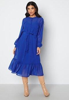 Happy Holly Lovis Midi Dress Blue bubbleroom.fi