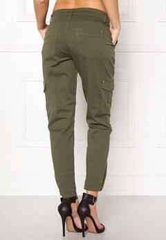 Happy Holly Lucy trousers Khaki green Bubbleroom.fi