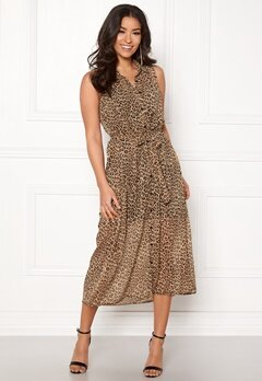 Happy Holly Maddy dress Leopard Bubbleroom.fi