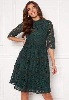 Happy Holly Madison lace dress Dark green Bubbleroom.fi
