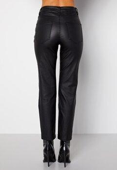 Happy Holly Maja coated pants Black bubbleroom.fi